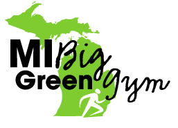 Big Green Gym Transparent