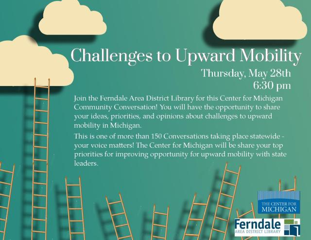 Challenges to Upward Mobility Flyer
