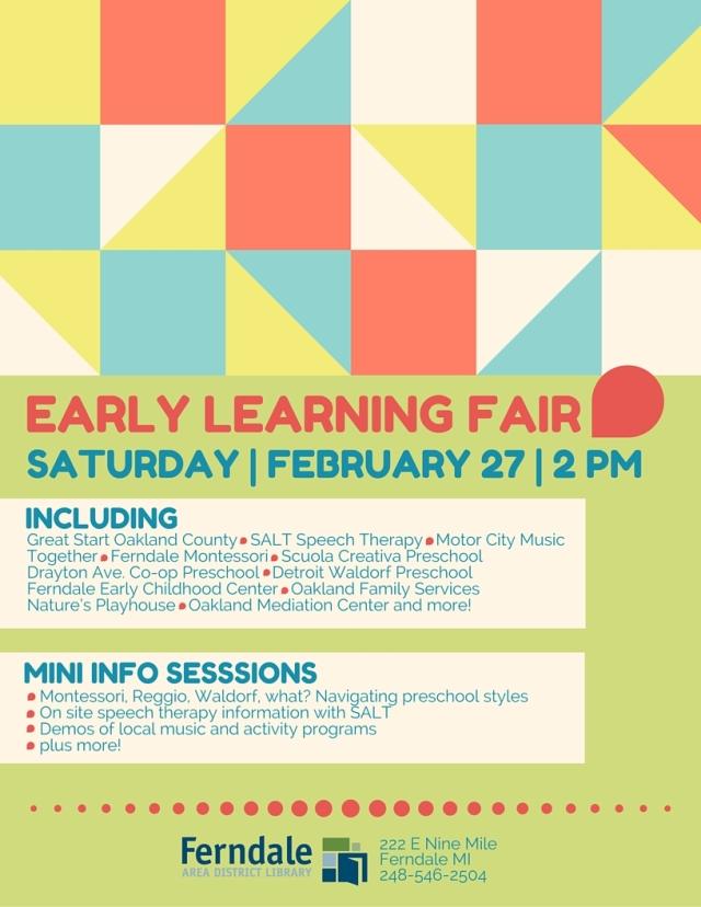 Early Learning Fair