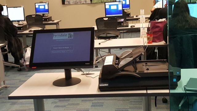 new scanning station