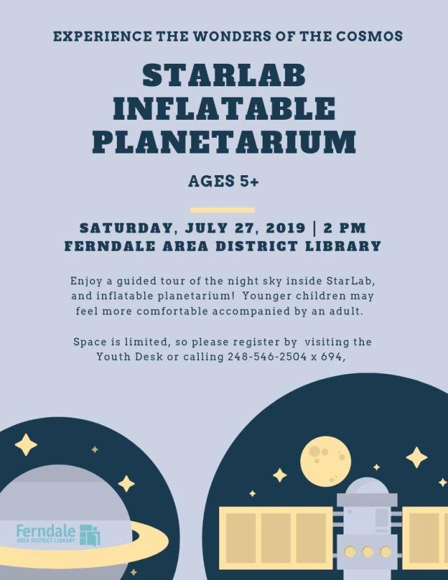 StarLab Inflatable Planetarium